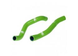 Kit tubos radiador silicona verde Kawasaki KFX450R 08-10