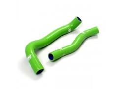 Kit tubos radiador silicona verde Artic Cat DVX400 03-06, Kawasaki KFX400 03-07, Suzuki LT-Z400 03-08