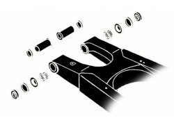 Kit rodamientos basculante