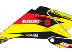 Kit adhesivos Amarillo Suzuki LT-R450 06-11