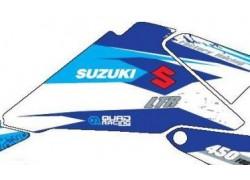 Kit adhesivos Blanco Suzuki LT-R450 06-11