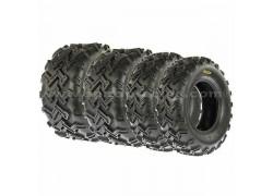 Combo 4 Neumáticos A001 24x8-12 y 24x11-10 SUN-F