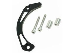 Protector de Piñón de salida negro Artic Cat DVX400 03-08, Kawasaki KFX400 03-06, Suzuki LT-Z400 03-08