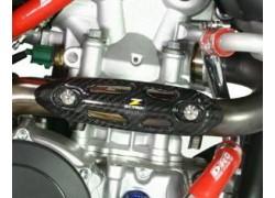 Protector colector escape fibra de carbono ZETA RACING.