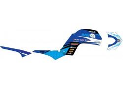 Kit adhesivos Azul Yamaha YFM660 Raptor 01-05