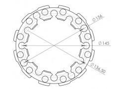 Separadores delanteros/traseros Can Am Commander 800/1000/ DPS/Limited 11-14, Maverick/Max 2013, Commander 800/1000/X 11-14