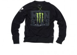 "Sudadera ""Monster Energy Negra"" ONE INDUSTRIES."