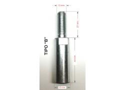 """Tornillo """"tipo B"""" para separador de 45mm."""