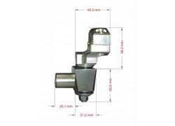 Torretas universales (22mm.) con silentblocs para elevar el manillar (22/28mm.) SP RACING