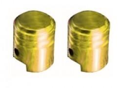 VCPLPIGD Tapones de valvulas de aire Doradas