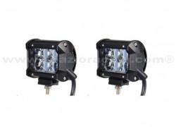 Juego de 2 focos largo alcance LED EPISTAR 18W SPXL03018Z