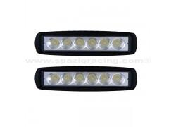 Juego de 2 focos luces de cruce LED EPISTAR 18W SPXL18018Z