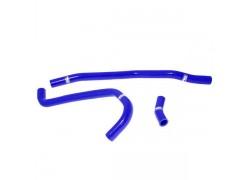Kit tubos radiador silicona azul Yamaha YFM700 06-13