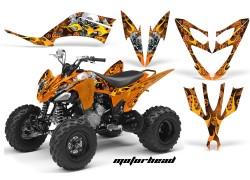 Kit Adhesivos Motorhead Mandy AMR Yamaha YFM250 Raptor.