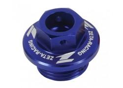 Tapón llenado aceite motor Azul ZETA RACING Suzuki LT-R450 06-09